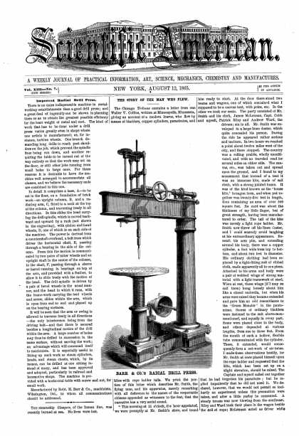 Scientific American - Aug 12, 1865 (vol. 13, #7)