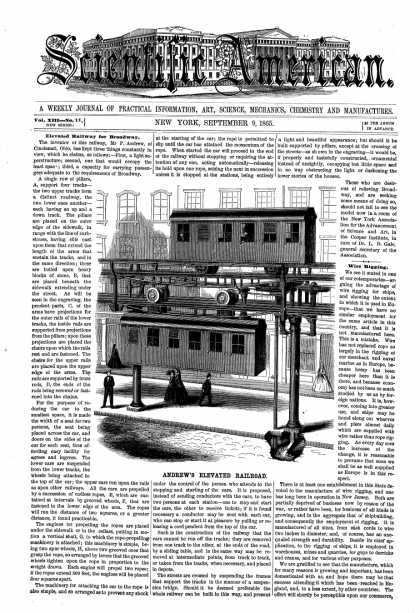 Scientific American - Sept 9, 1865 (vol. 13, #11)