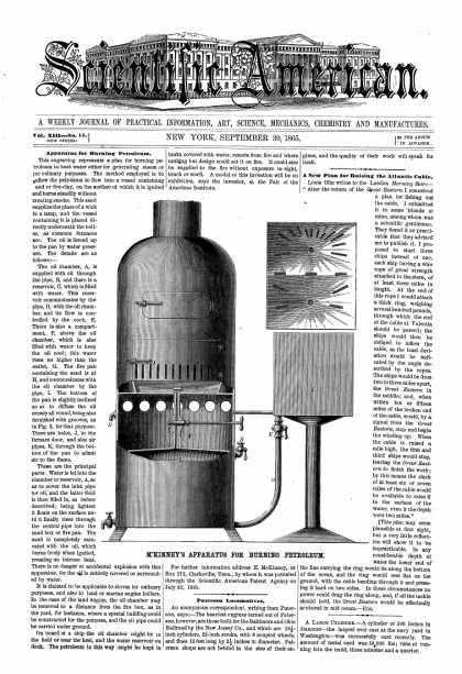 Scientific American - Sept 30, 1865 (vol. 13, #14)