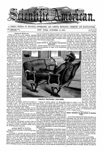Scientific American - Oct 14, 1865 (vol. 13, #16)