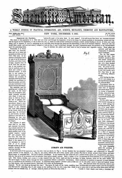 Scientific American - Dec 9, 1865 (vol. 13, #24)