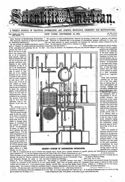 Scientific American - Dec 16, 1865 (vol. 13, #25)