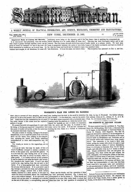 Scientific American - Dec 23, 1865 (vol. 13, #26)