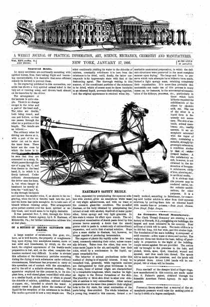 Scientific American - Jan 27, 1866 (vol. 14, #5)