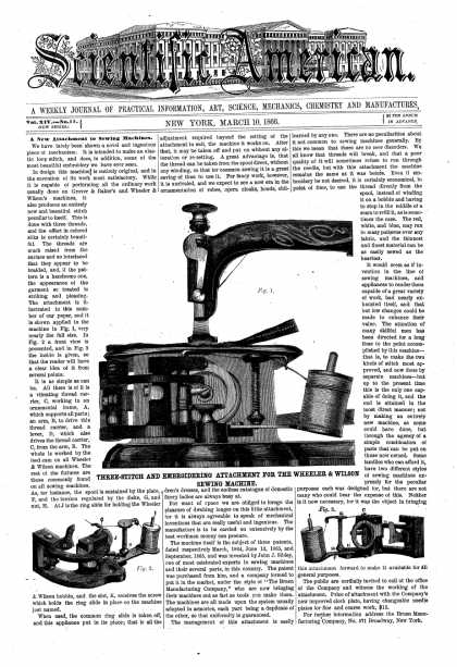 Scientific American - Mar 10, 1866 (vol. 14, #11)