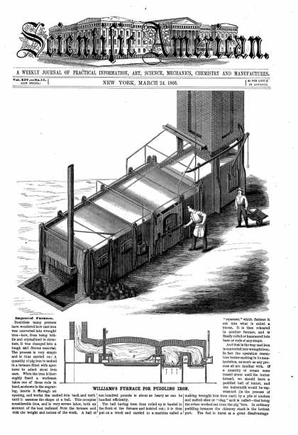 Scientific American - Mar 24, 1866 (vol. 14, #13)
