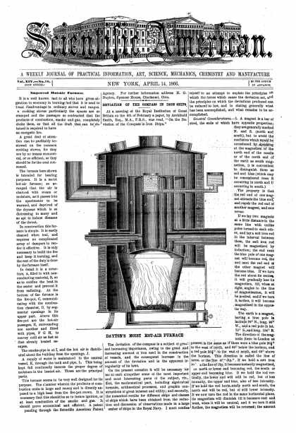 Scientific American - Apr 14, 1866 (vol. 14, #16)