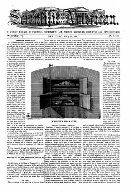 Scientific American - May 26, 1866 (vol. 14, #22)