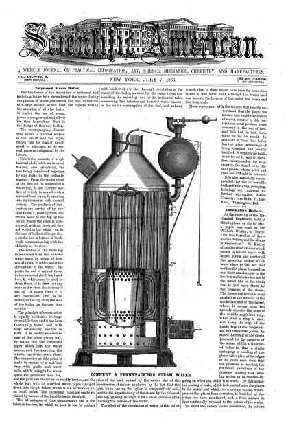 Scientific American - July 7, 1866 (vol. 15, #2)