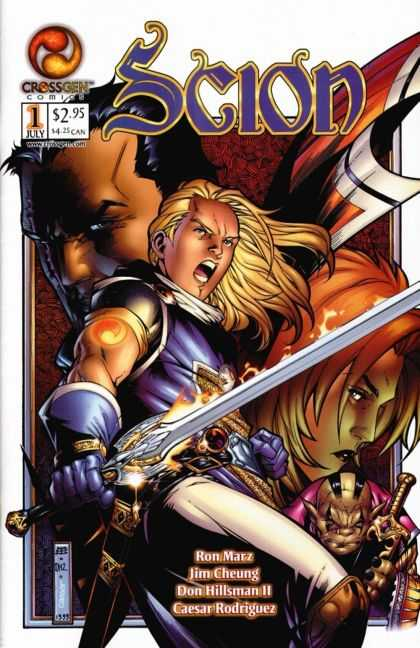 Scion 1 - Scion Issue 1 - Crossgen Comics - Sigil - Ron Marz - Sword - Jim Cheung