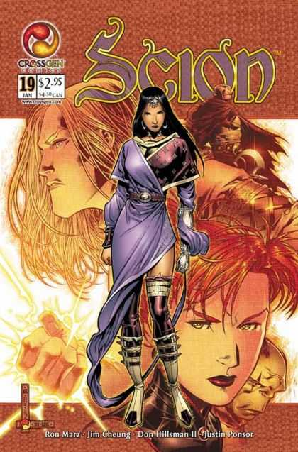 Scion 19 - Crossgen - 19 Jan - Ron Marz - Jim Cheung - Justin Ponsor - Jim Cheung