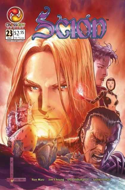 Scion 23 - Crossgen - Redhead - May - Ron Marz - Jim Cheung - Jim Cheung