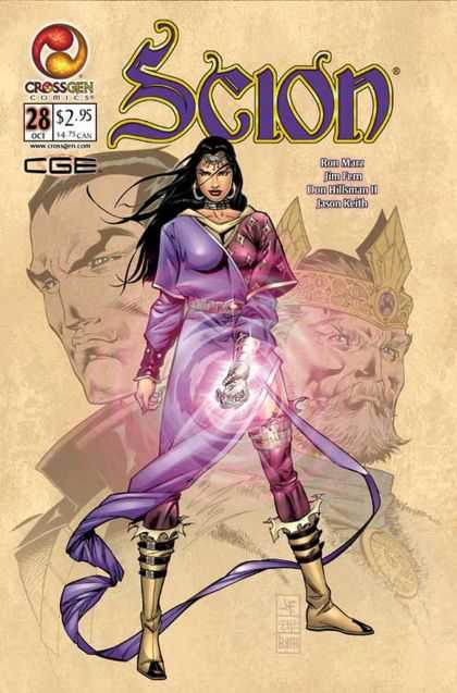 Scion 28 - Scion - Jason Keith - Don Hillsman Ii - Ron Marz - Crossgen Comics