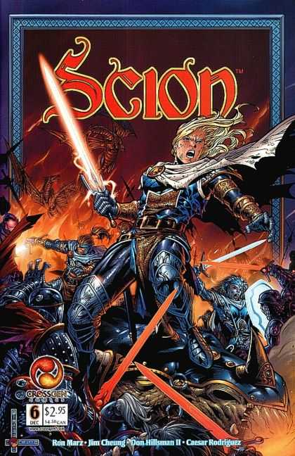 Scion 6 - Sword - Armor - Dragon - Warriors - Battle - Jim Cheung