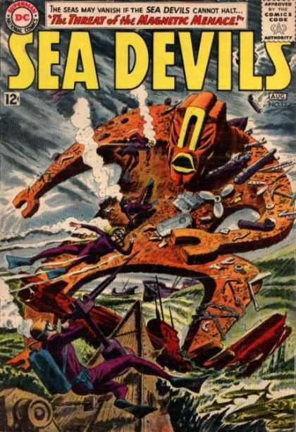 Sea Devils 12 - Threat - Magnetic - Menace - Seas - Fish - Jack Adler