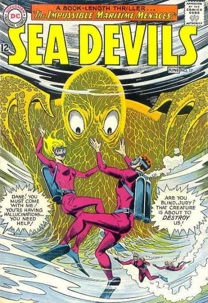 Sea Devils 17 - A Book-length Thriller - The Impossible Maritime Menaces - June No17 - Superman - Destroy