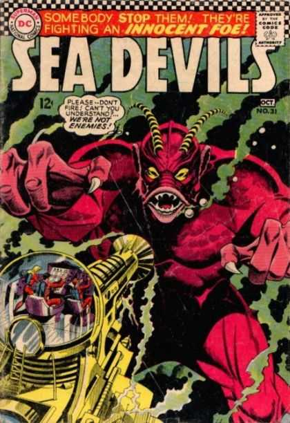 Sea Devils 31 - Devil - Underwater - Submarine - Humans - Explorers - Jack Adler
