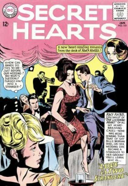 Secret Hearts 101 - Night Club - Dance - Men And Women - Romance - Heartbreak