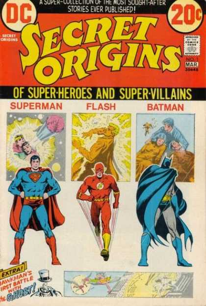 Secret Origins 1 - Nick Cardy