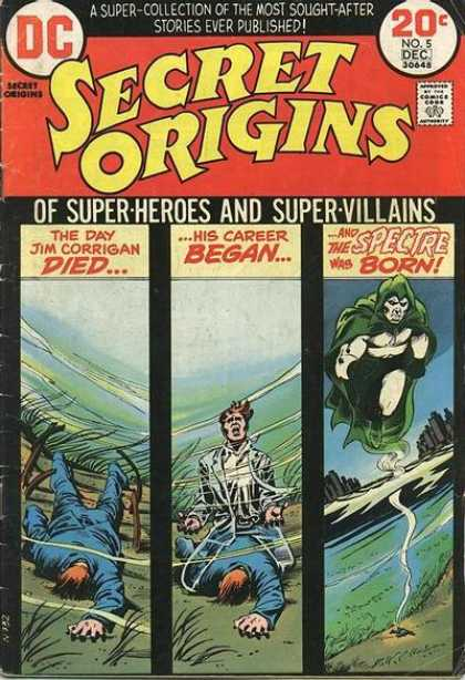 Secret Origins 5 - Nick Cardy