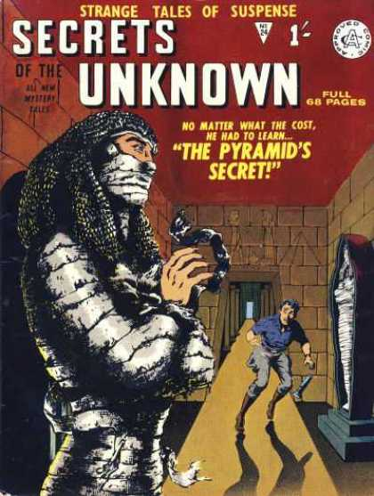 Secrets of the Unknown 24 - Suspense - The Pyramids Secret - No Matter What The Cost - Egyptian - Mummy