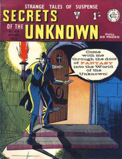Secrets of the Unknown 49 - Strange Tales - Suspense - Fantasy - World Of The Unknown - Night