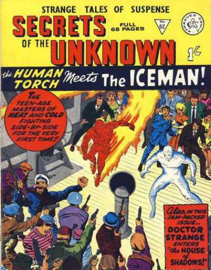 Secrets of the Unknown 62 - Human Torch - Iceman - Doctor Strange - The House Of Shadows - The Human Torch Meets The Iceman