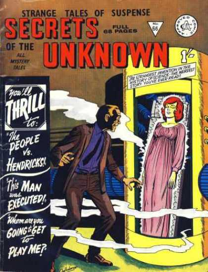Secrets of the Unknown 66