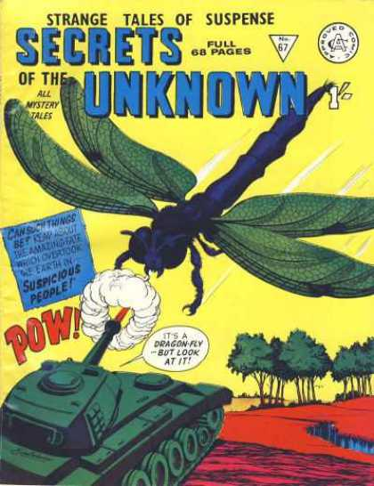 Secrets of the Unknown 67 - Tank - Beast - Giant Fly - Fire - Fight