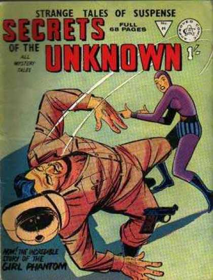 Secrets of the Unknown 86 - Superhero - Female - Fighting - Costume - Action