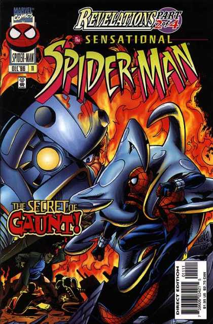 Sensational Spider-Man 11 - Spiderman - Giant Robot - Fire - Camping Story - Heavy Armor - Mike Wieringo