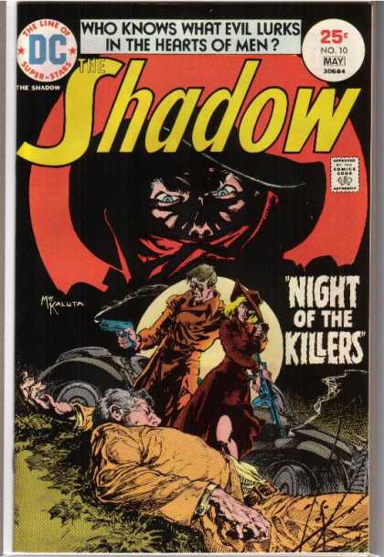 Shadow (Comic) 10 - What Evil Lurks In The Hearts Of Men - Night Of The Killers - Death - Masked Man - Guns