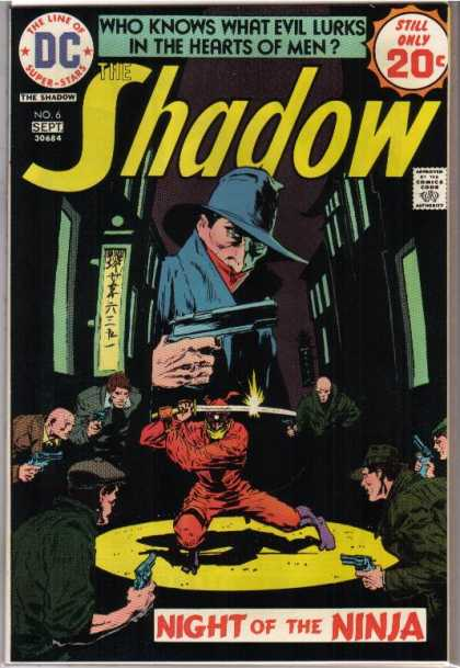 Shadow (Comic) 6 - Dc - September - 20 Cents - Sword - Blade