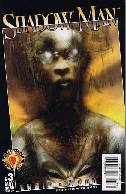 Shadowman 3 - Shadow Man - Ennis-wood - Mature - Action - Valiant - Ashley Wood, David Lapham