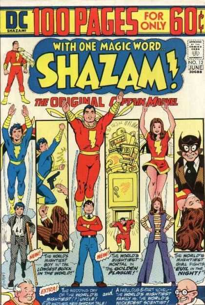 Shazam 12 - Captain Marvel - Lightening Suit - Dc - Cheap Comimc - Superhero