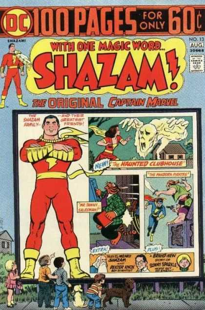 Shazam 13 - 100 Pages - Enazam - Captain Marvel - Woman - Superhero