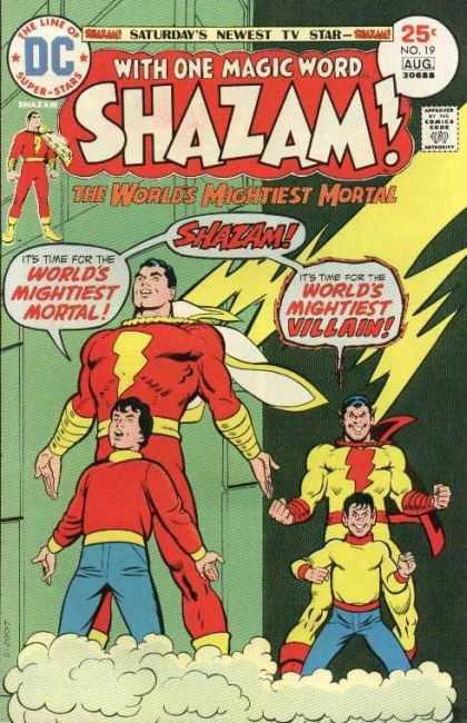 Shazam 19 - Dc - August - Superhero - The Worlds Mightiest Mortal - Shazam