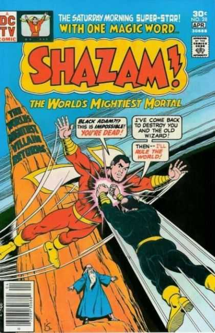 Shazam 28 - Mightiest Mortal - Black Adam - Wizzard - Yellow Boots - Red Outfit