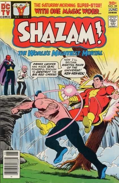 Shazam 29 - Dc - Dc Comics - Prince Lucifer - Fight - Shazam