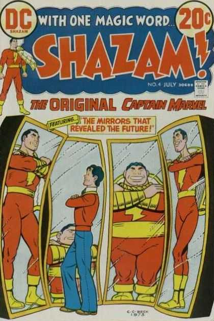 Shazam 4 - The Original Captain Marvel - With One Magic Word - The Mirrors That Revealed The Future - Funhouse - Mirrors