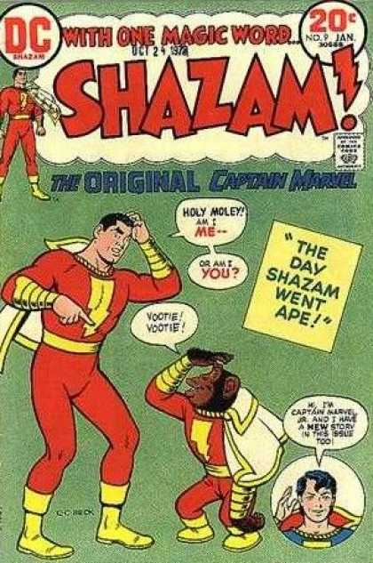 Shazam 9 - Man - Bat - Cape - Hero