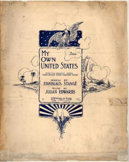 Sheet Music - My own United States; When Johnny comes marching home