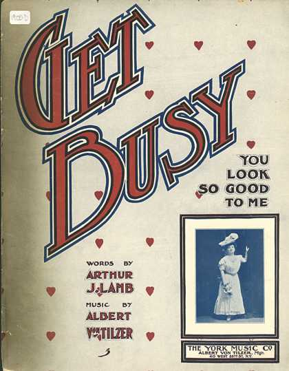 Sheet Music - Get busy!