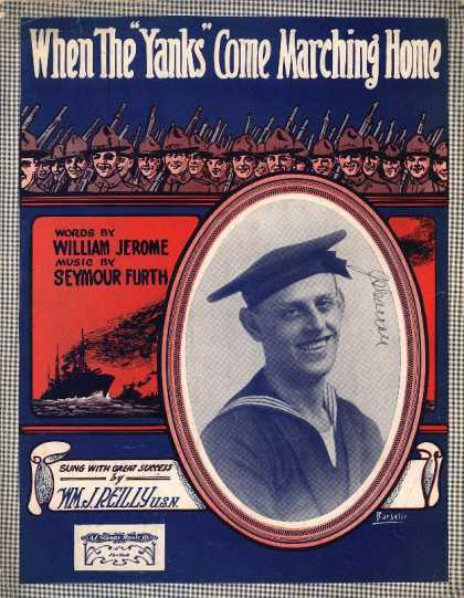 "Sheet Music - When the ""Yanks"" come marching home"