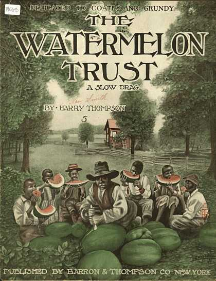 Sheet Music - The watermelon trust