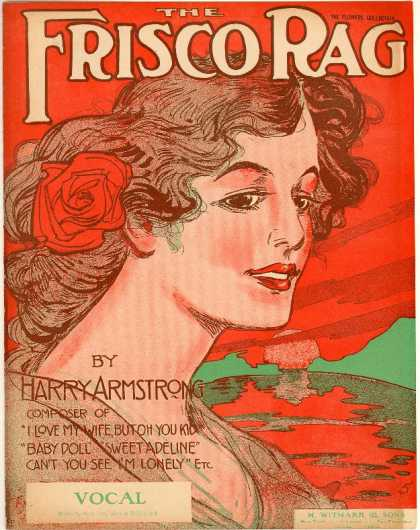 Sheet Music - Frisco rag