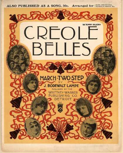 Sheet Music - Creole belles