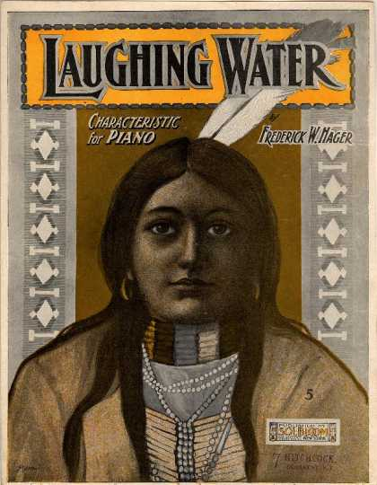 Sheet Music - Laughing water (characteristic)