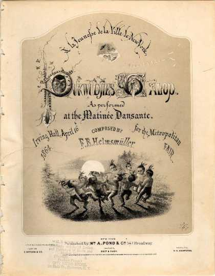Sheet Music - Pukwudjies galop; Puck wudjie's galop; Metropolitan fair