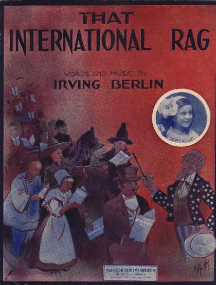 Sheet Music - That international rag; The international rag